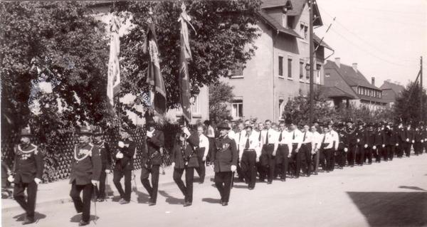 Schützenaufmarsch Juli 1934